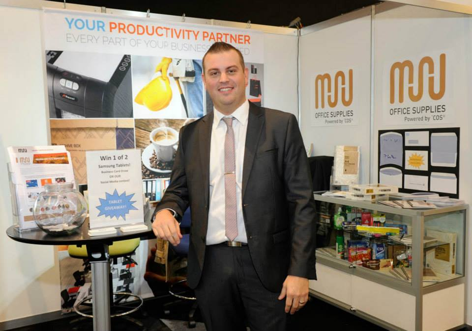 Muru Group booth at Connect 2015